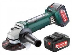 Аккумуляторная УШМ Metabo W 18 LTX 125 Quick (602174650)