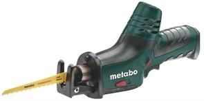 Аккумуляторная сабельная пила Metabo PowerMaxx ASE, 10,8 В, без АКБ (602264890)