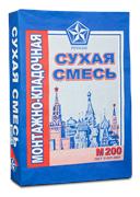 Монтажно-кладочная смесь РУСЕАН  М-200 (40 кг)