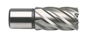 Сверло по металлу корончатое с хв. Weldon 19 мм (3/4'') D.BOR HSS-Co 27ммх30/55