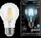 Лампа Gauss LED Filament A60 E27 8W 4100К - фото 10427