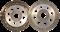 Алмазная шлиф. тарелка, 2-ряд. DW-5 Super Standard d 180x22,23 мм D.BOR - фото 8807